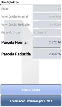 Simulador de Consórcio Tagcon screenshot 2