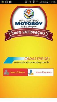 Aplicativo Motoboy 2017 poster