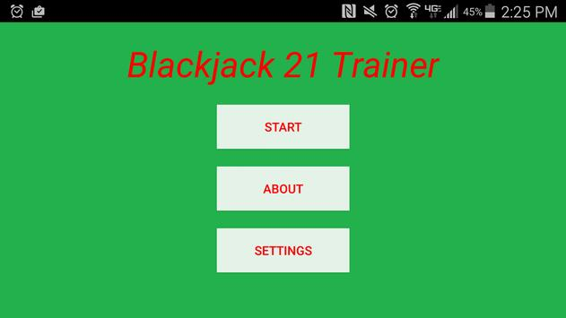 Blackjack Trainer poster