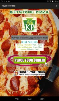 Keystone Pizza screenshot 2