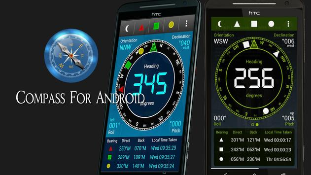 Compass for android apk screenshot