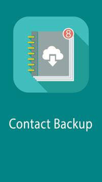 Easy Contact Backup poster