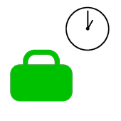 Working hours calculator icon