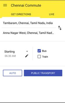 Chennai Commute screenshot 1