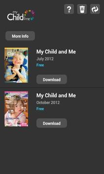 My Child & Me Magazine apk screenshot
