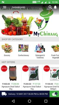 MyChiraag - Online Grocery poster