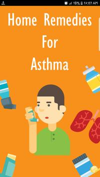 Home Remedies For Asthma poster