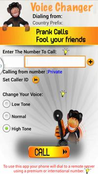 Call Voice Changer-Prank Call poster
