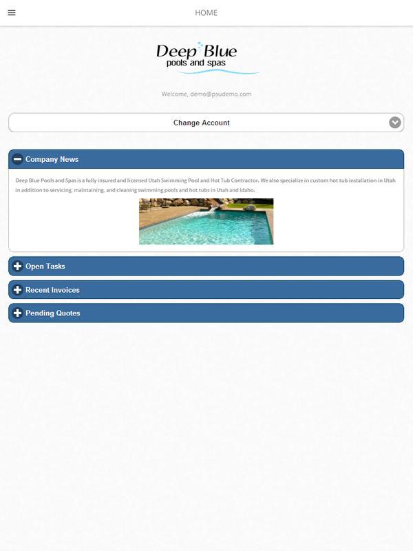 Deep Blue Pools Apk Screenshot