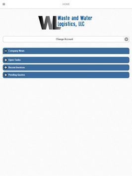 Waste and Water Logistics apk screenshot