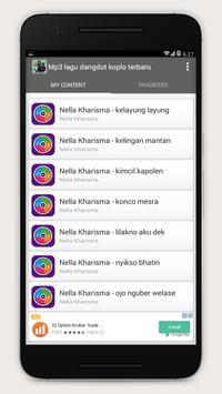 Mp3 lagu dangdut koplo terbaru apk screenshot