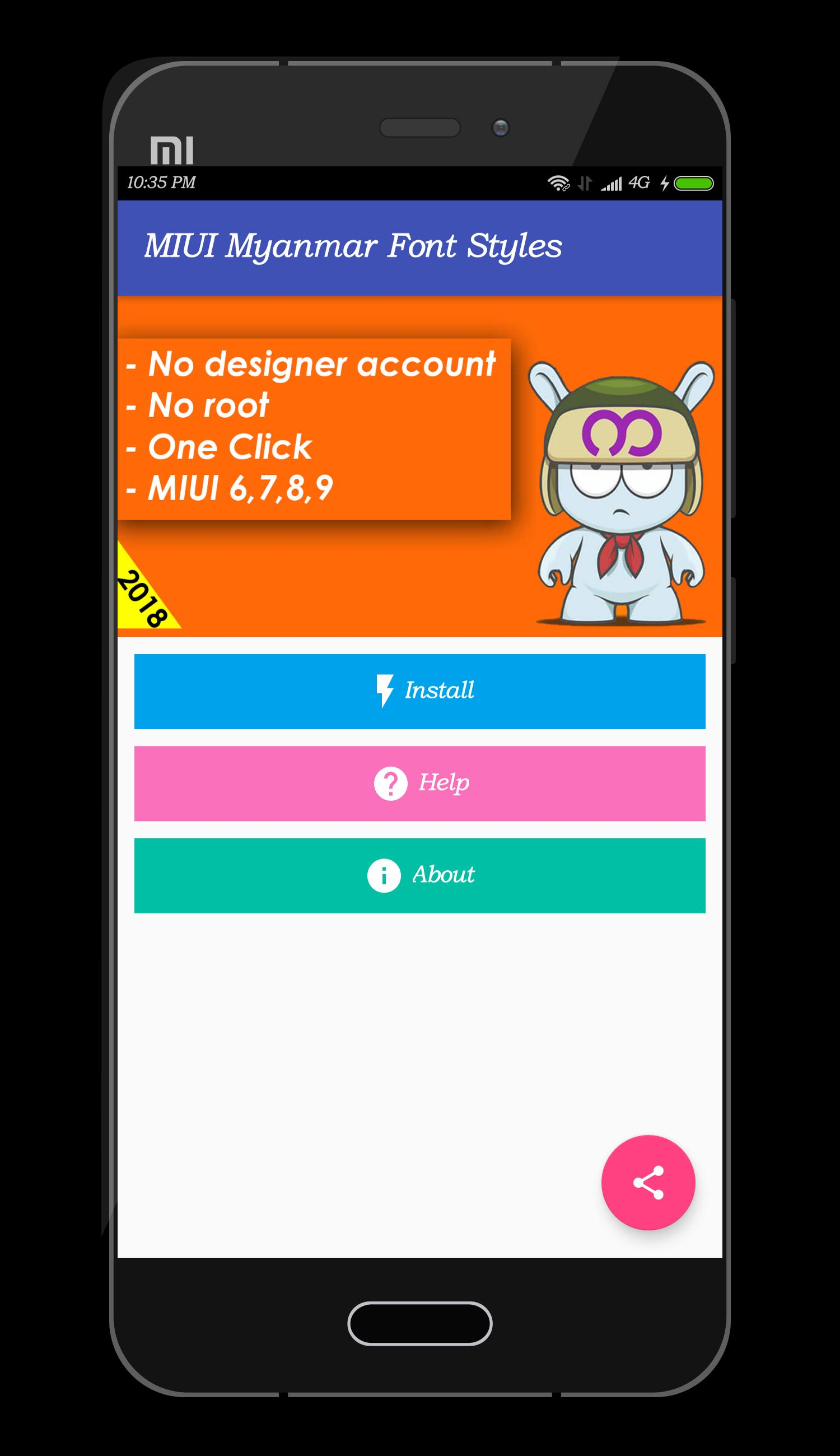 Mi Myanmar Font Styles for Android - APK Download