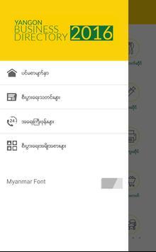 Yangon Business Directory apk screenshot