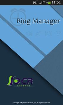 Ring Manager poster