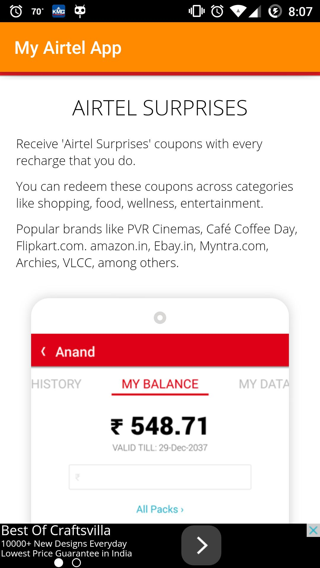 My Airtel App for Android - APK Download