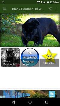 Black Panther Hd Wallpaper poster