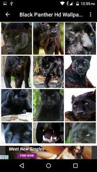Black Panther Hd Wallpaper screenshot 2