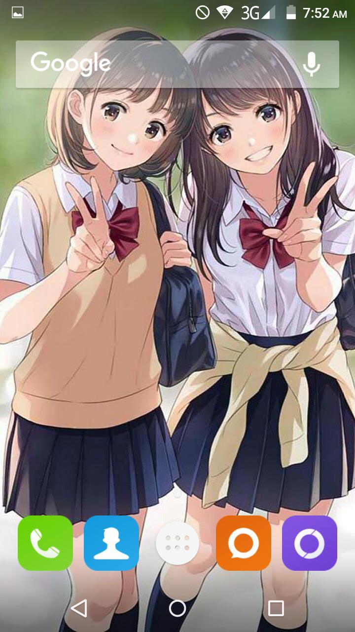Unduh 700 Wallpaper Anime Girl Keren Hd  Gratis
