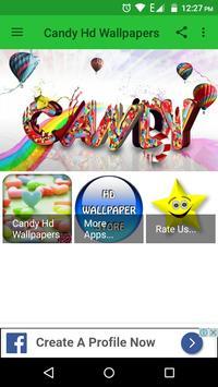 Candy Hd Wallpapers apk screenshot