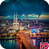 City Night Hd Wallpaper icon