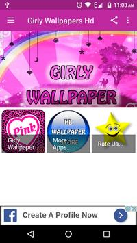 Girly Wallpapers Hd poster