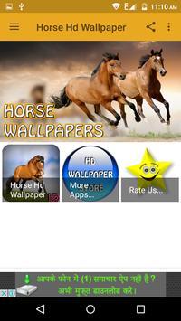 Horse Hd Wallpaper poster