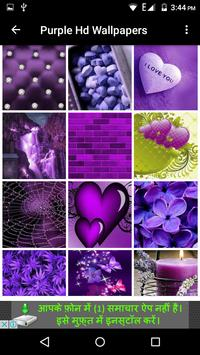 Purple Hd Wallpapers screenshot 14