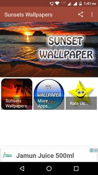 Sunsets Wallpapers poster