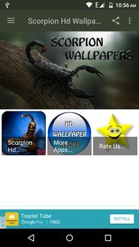 Scorpion HD Wallpaper poster