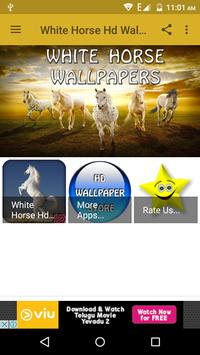 White Horse Hd Wallpapers screenshot 8
