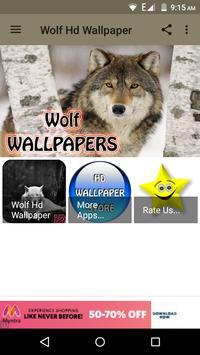 Wolf Hd Wallpaper poster
