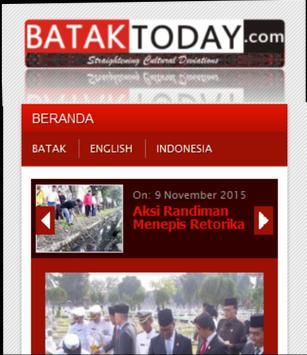 Bataktoday For Android apk screenshot