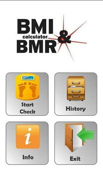BMI & BMR Calculator poster