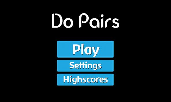 Do Pairs poster