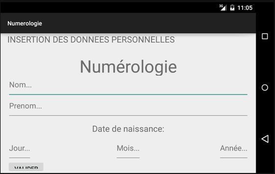 Numérologie apk screenshot