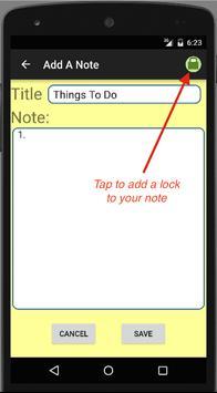 Secure Notes screenshot 2