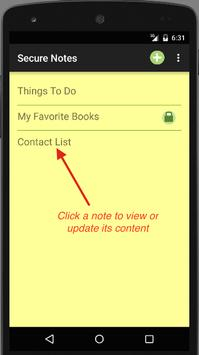 Secure Notes screenshot 3