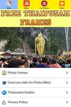 Thaipusam Photo Frames Editor poster