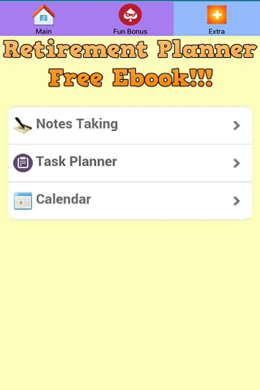 retirement free ebook planner apk download free books reference