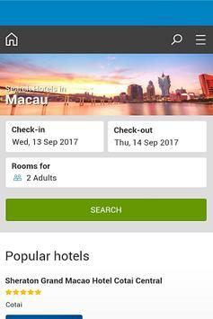 Macau Hotel screenshot 2