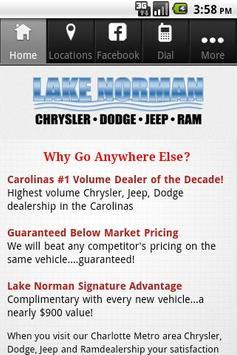 Lake Norman screenshot 1