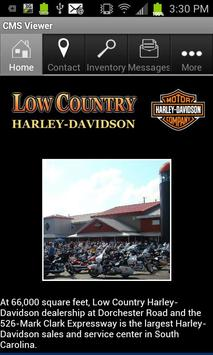 Low Country Harley-Davidson poster