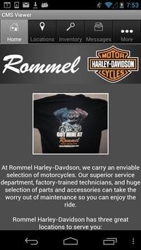 Rommel Harley-Davidson poster