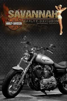 Savannah Harley-Davidson poster