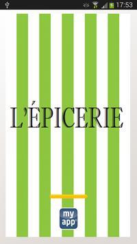 L'ÉPICERIE poster