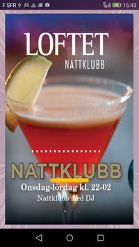 Loftet Nattklubb poster