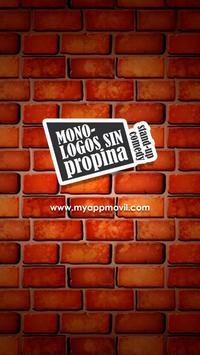 Monólogos Sin Propina الملصق