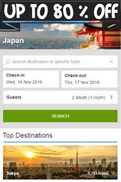 Booking Japan Hotels apk screenshot