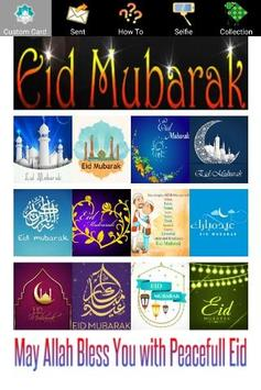 Happy Eid Mubarak Greeting Cards and Photo Frames poster