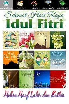 Selamat Lebaran Idul Fitri poster